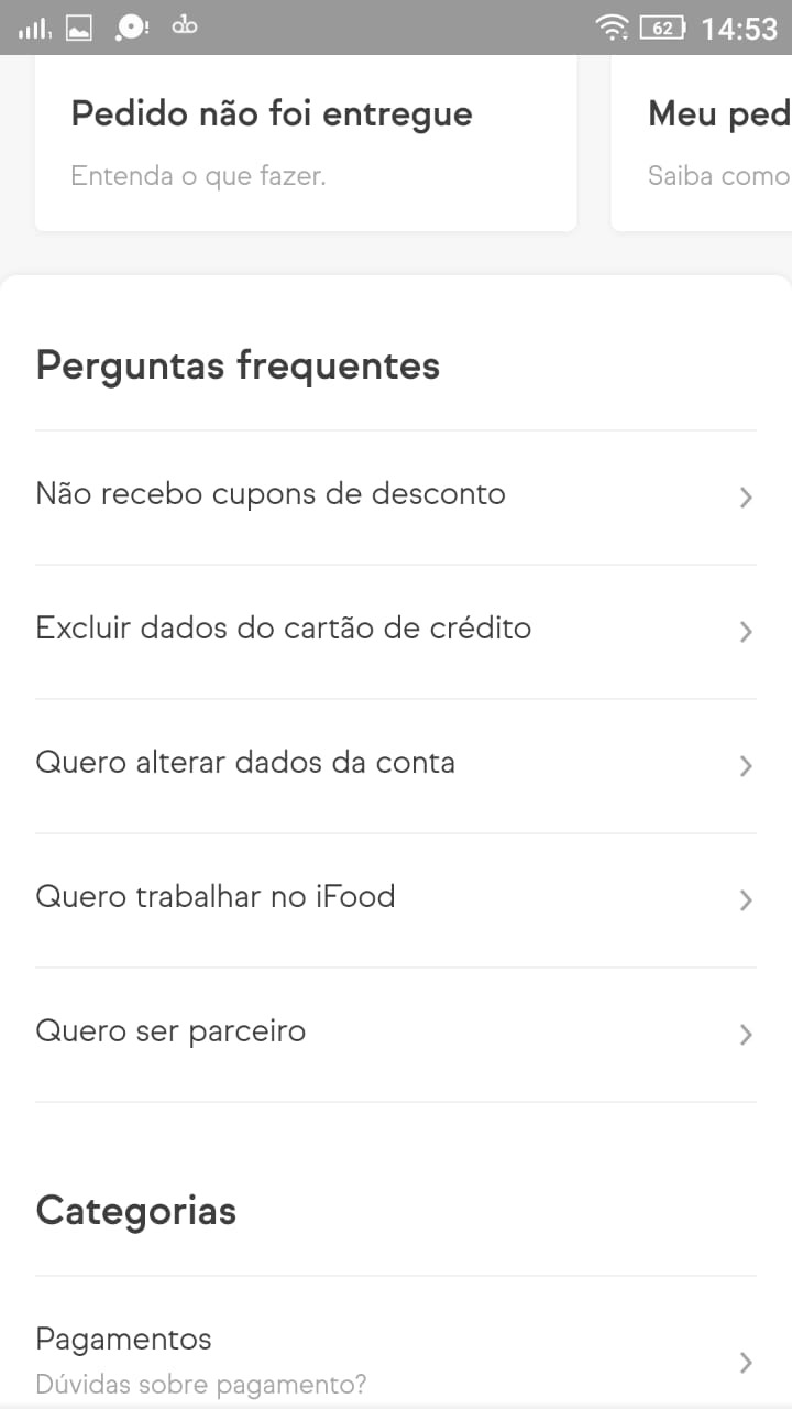 Como reclamar no ifood - categoria - wikiajuda