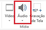 Como inserir audio no PowerPoint - Inserir audio - WikiAjuda