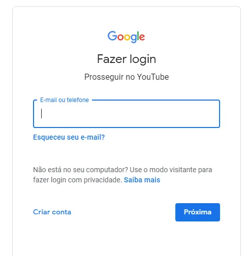 Como ativar comentarios no Youtube - Login Google - WikiAjuda