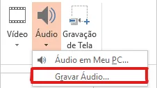 Como inserir audio no PowerPoint - Gravar audio - WikiAjuda